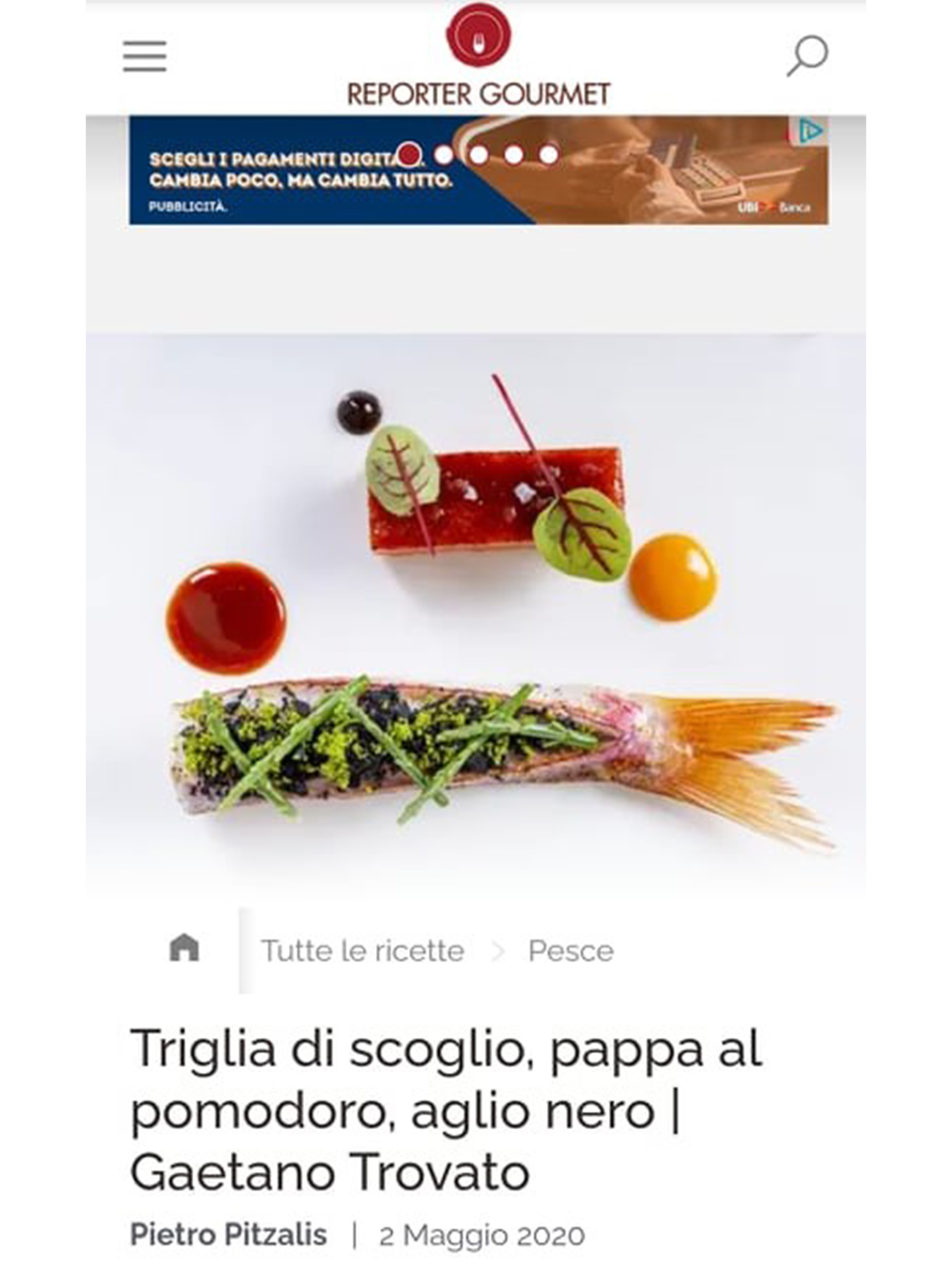 Arnolfo – Reporter Gourmet – Maggio 2020