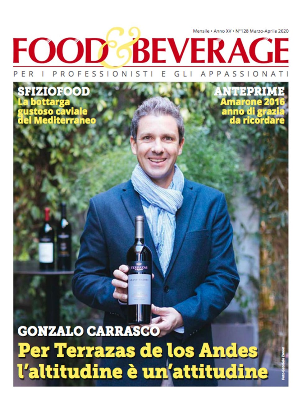 Aroma – Food & Beverage – Marzo Aprile 2020