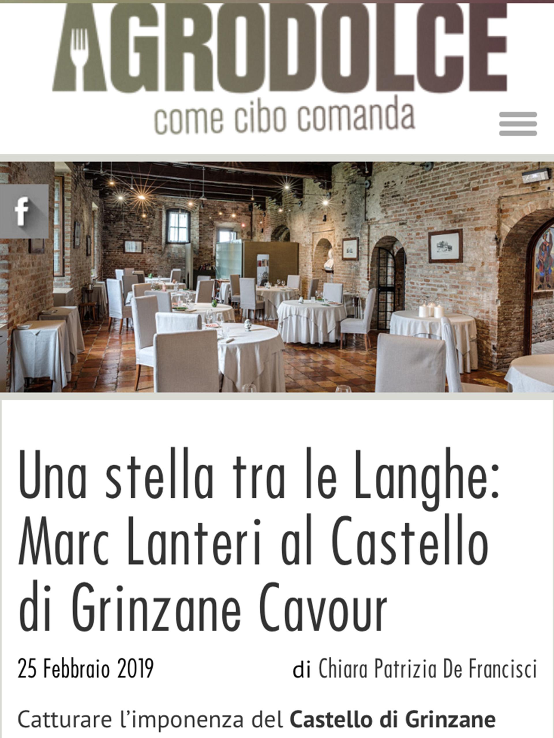 Marc Lanteri – Agrodolce – Febbraio 2019