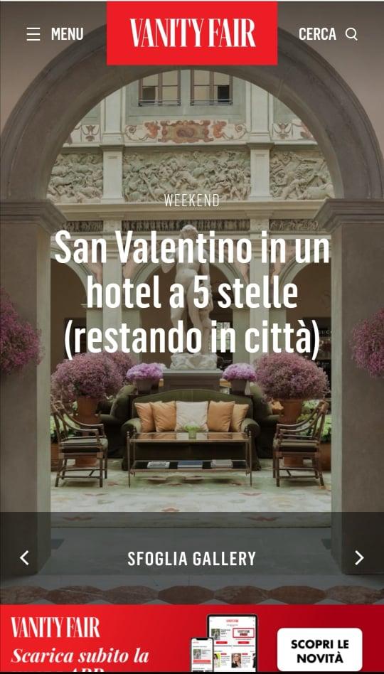 GRAND HOTEL PARKER'S – VANITYFAIR – FEBBRAIO 2021