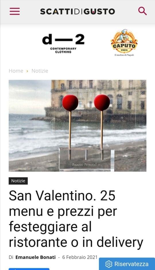 MARC LANTERI – SCATTI DI GUSTO – FEBBRAIO 2021