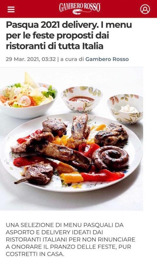 GRAND HOTEL PARKER'S – GAMBERO ROSSO – MARZO 2021
