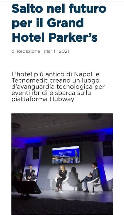 GRAND HOTEL PARKER'S – ITALIA TRAVEL WORLD – MARZO 2021