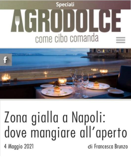 GRAND HOTEL PARKER'S – AGRODOLCE – MAGGIO 2021