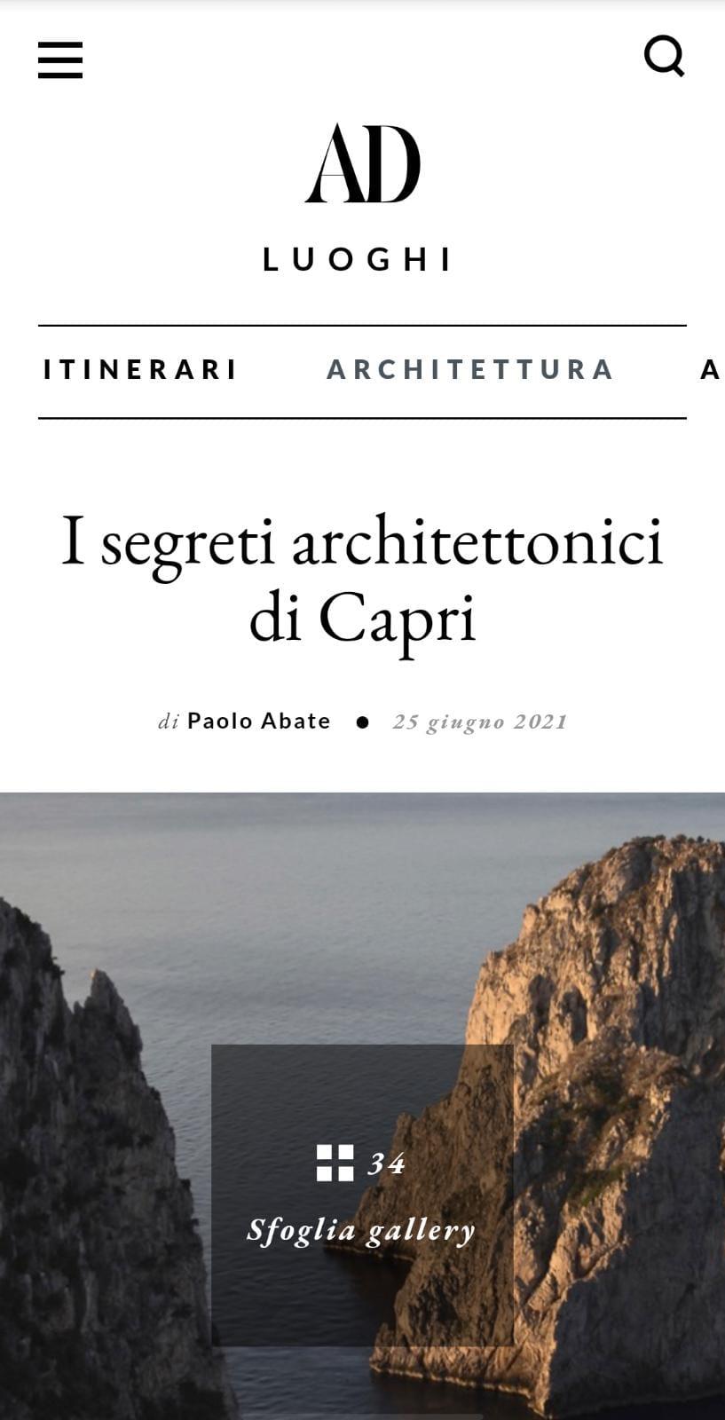 MANFREDI FINE HOTELS COLLECTION – AD ITALIA – GIUGNO 2021