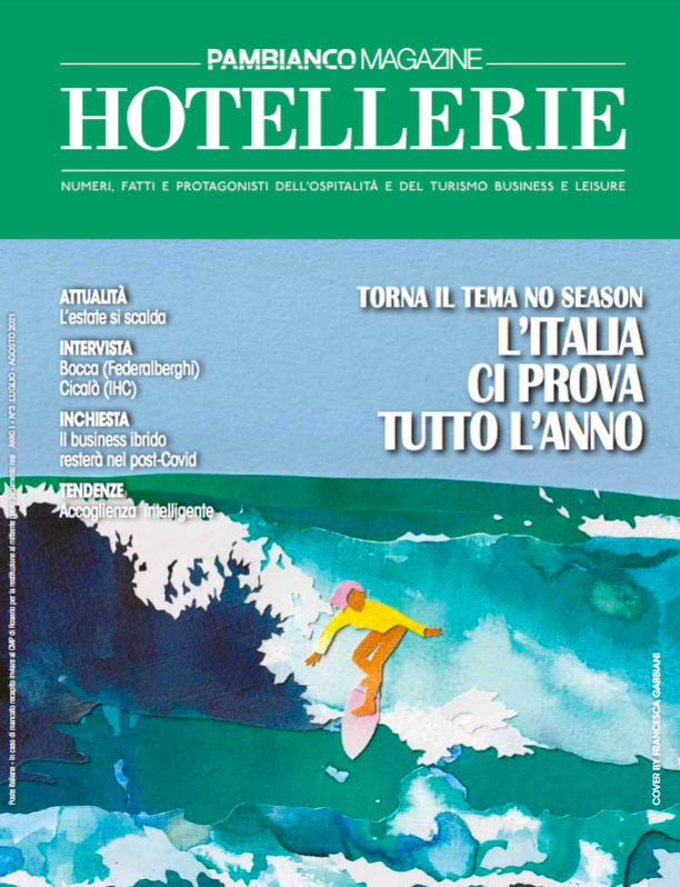CANNE BIANCHE LIFESTYLE HOTEL – PAMBIANCO HOTELLERIE – AGOSTO 2021